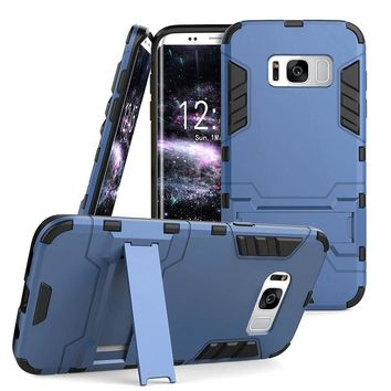 Hybrid Rugged Shockproof Stand Protective Case For Samsung Galaxy Note 8 / S8 / S8 Plus / S7 / S7 Edge / S6 Edge / S6 / Note 5