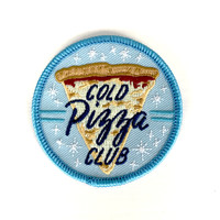 Cold Pizza Club Iron-On Patch