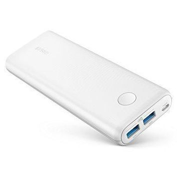 Anker PowerCore II 20000, 20100mAh Portable Charger with Dual USB Ports, PowerIQ 2.0 (up to 18W Output) Power Bank, Fast Charging for iPhone, Samsung and More (Compatible with Quick Charge Devices)