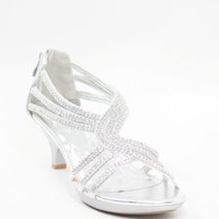 Wedding Shoes Silver - Mimi (Style 450-3)