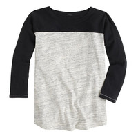 J.Crew Womens Colorblock Football Tee