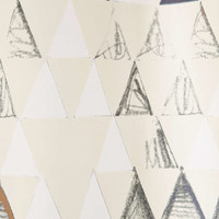 Pattern State For DENY Triangle Shower Curtain - Urban Outfitters
