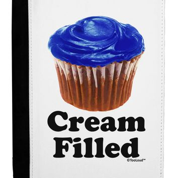 Cream Filled Blue Cupcake Design Ipad Mini Fold Stand  Case by TooLoud