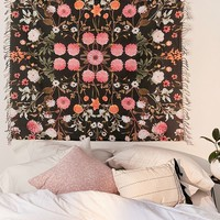 Daniella Midnight Floral Tapestry | Urban Outfitters