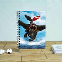 How To Train Your Dragon Night Fury- Photo Notebook Auroid