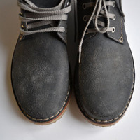 Handmade Curried Leather Men Desert Boots - MADE TO ORDER -