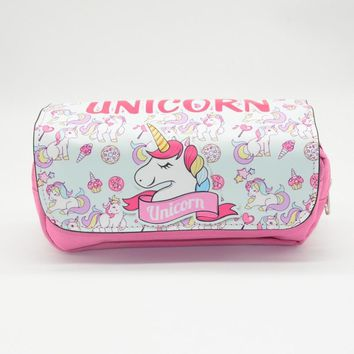 unicorn pencil case Kawai kalem kutusu estojo escola Cute animal estuche escolar pen case pencil box stationery