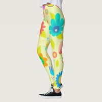 Everyone love flowers like this beautiful Leggings