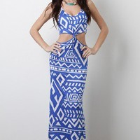 Tribal Realm Maxi Dress