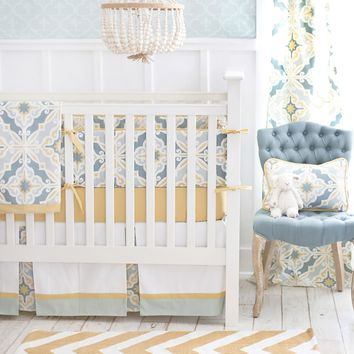 New Arrivals Starburst in Gold Baby Bedding