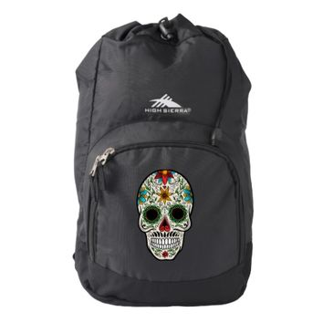 Day Dead Sugar Skull High Sierra Backpack