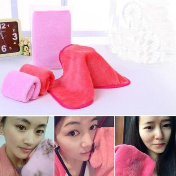 ESBON Makeup Remover Microfiber Cloth Pads Remover Towel Face Cleansing Makeup Y1113