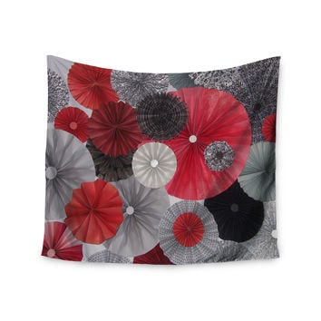"Heidi Jennings ""Kyoto"" Red Black Wall Tapestry"