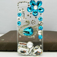 Fashion Shaped  Drill  pearls Swan case  iphone 5 case iphone 4 case  case iphone case iPhone cover