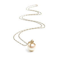 Largest Pearl and Claw Necklace, by by Natalie Frigo - By Natalie Frigo on Taigan