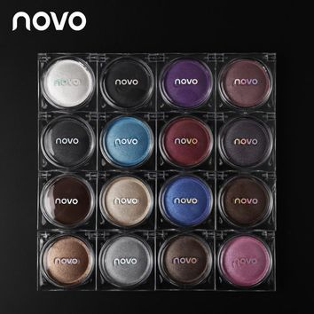 Novo Waterproof Professional Nude Eyeshadow Palette Makeup Shimmer Eye Shadow Glitter Eye Make Up Cosmetics Set