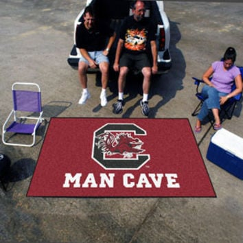 "NCAA - South Carolina Man Cave UltiMat Rug 60""x96"""