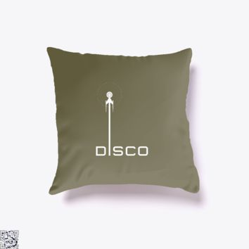 Star Trek Discovery, Star Wars Throw Pillow Cover