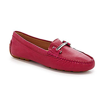 Lauren Ralph Lauren Women's Caliana Driving Moccasins - RL Bright Red