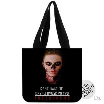 American horror story Supreme New Hot, handmade bag, canvas bag, tote bag
