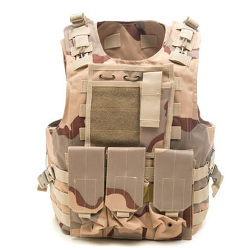 Tactical Military Molle Combat Assault Plate Carrier Vest
