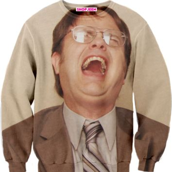 DWIGHT LAUGHING SWEATER