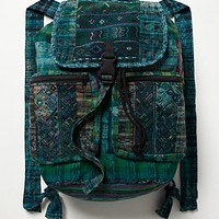 Stela 9 Womens Santiago Patchwork Backpack -