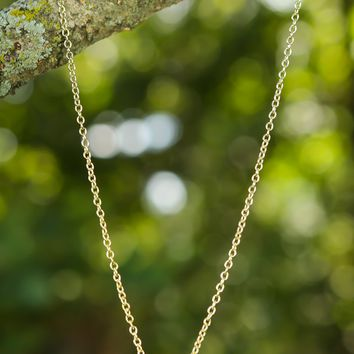Meet Me At The Disco Necklace-Gold - All Jewelry