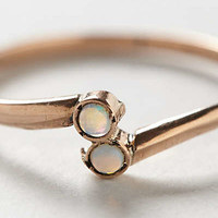 Vintage Wrapped Opals Ring