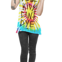 Cool Kids Can't Dye Tie Dye Top- LAST ONE