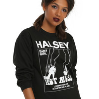 Halsey Hot Mess Girls Sweatshirt