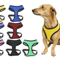 SPECIAL SALE !!!  Comfortable Control Dog puppy Harnesses Soft Air mesh