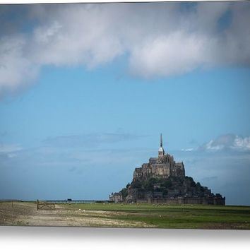 Mont Saint-michel. Normandy. France Metal Print
