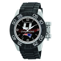 NFL New England Patriots Super Bowl Champion Men's Beast Watch
