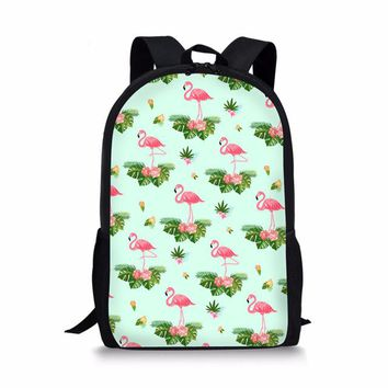 Toddler Backpack class AEQUEEN Cute Flamingo Backpack For Teenage Girls Laptop School Bags Mochila 2018 Book Bag Travel Daypack Toddler Rucksack Female AT_50_3