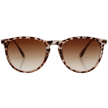 Leopard Grandient Lens Cat Sunglasses