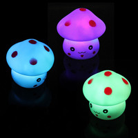 Colorful Changing Colors Novelty LED Mushroom Lamp Night Light