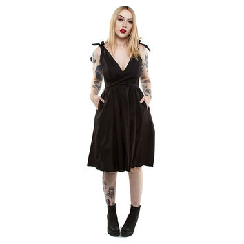 Aurora Swing Dress by Lucky 13 - in Black