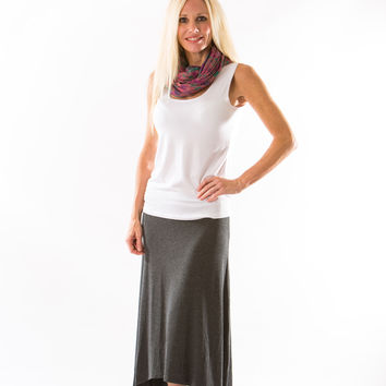Naomi Skirt, Anthracite by Amour Vert