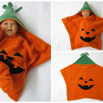 star fleece baby wrap sleeping bag sleepsack swaddle footmuff halloween pumpkin jack o lantern