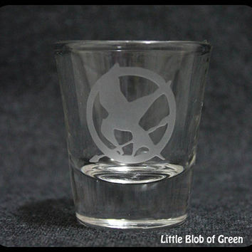 Hunger Games - Mockingjay Shot Glass