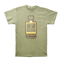 Radiohead Men's  Fragrance Bottle Slim Fit T-shirt Green Rockabilia