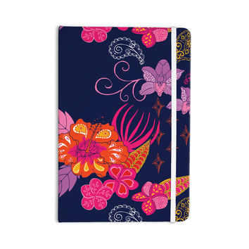 "Anneline Sophia ""Tropical Paradise"" Purple Floral Everything Notebook"