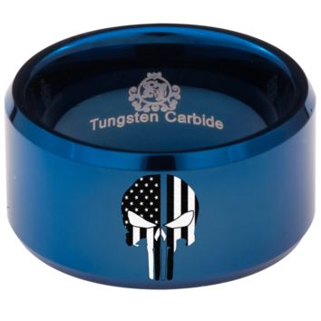 Tungsten Hunter Ring for Police