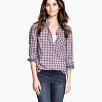 H&M Patterned Cotton Shirt $29.95