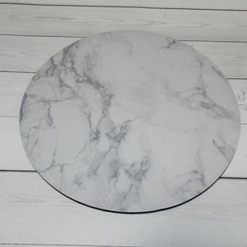marble Mouse Pad mousepad / Mat - round or rectangle -  Computer Accessories Geekery Custom Desk Coworker Gifts Office Gifts