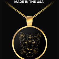 Lioness - Gold Plated Necklace