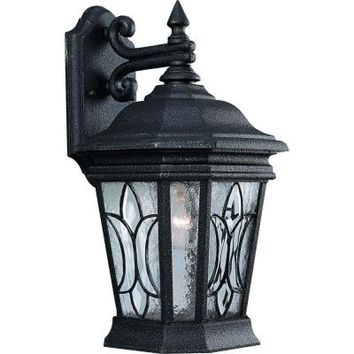 Progress Lighting Cranbrook Collection 1-Light Gilded Iron Wall Lantern-P5659-71 - The Home Depot