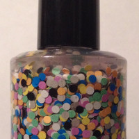 Twister  Handmade Nail Polish by Backwoodsnails on Etsy