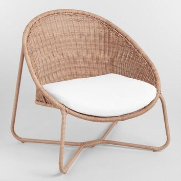 Natural All Weather Wicker Samoa Outdoor Egg Chair